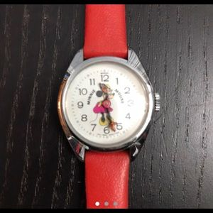 Ladies Vintage Minnie Mouse Watch